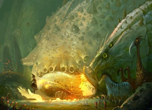 I have a date with big fish by ZERG118