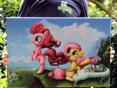 Piano Canvas for GalaCon Charity Auction by DeathPwny