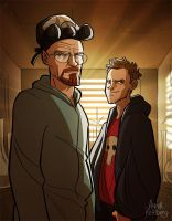 Breaking Bad by aerettberg