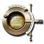 Steampunk Phopteron Barrel End Icon by yereverluvinuncleber