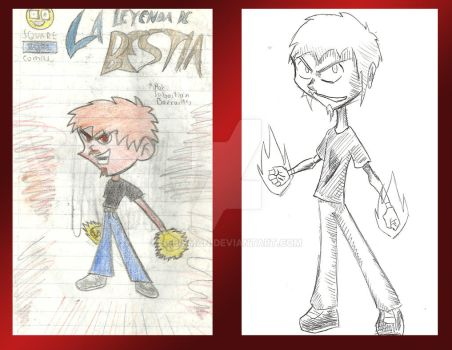 Bestia (Before and After) by Sebisman
