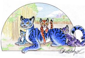 + Tiger Family + by Talonclawfange