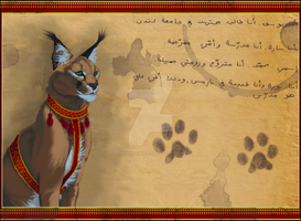 Noble Caracal by RedWolfmoon