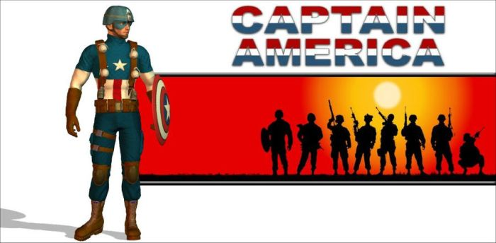 Captain America 2011 by arrowhead42