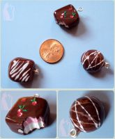 Polymer Clay Chocolate Truffles by Talty