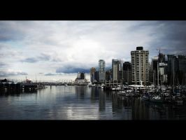 City with Cinematic Effect. by insertweirdnamehere