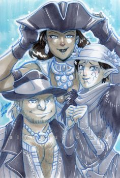 DA2 - Hat Party by aimo