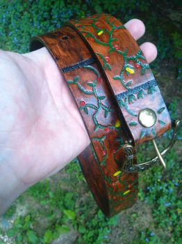 Nature Vine Belt - 51 by 1 1/2 inches by Geo-Aaron