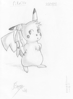 Pikachu - Just standing here S by Sc0t1n4t0r