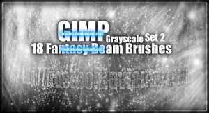 Gimp Beam set 2 Brushes by FrostBo