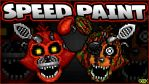 Adventure Nightmare Foxy - SPEEDPAINT FNAF - World by GEEKsomniac