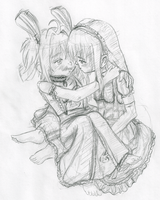 The Purest Kiss - sketch by Chibi-tan107