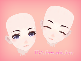 [MMD] TDA Face edit download !! by DianaRose666
