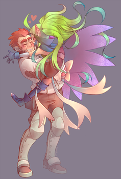 COMM-Gregor and Nowi by Sony-Shock