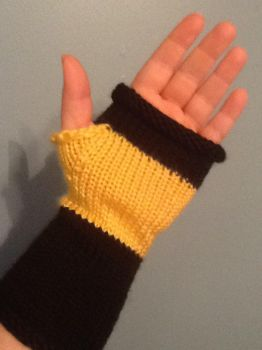 TNG Fingerless Gloves by Haunted-Mind