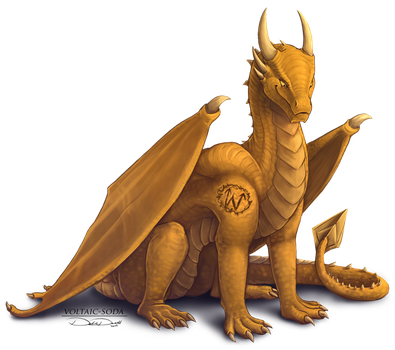 Golden Scaled -RQ- by Voltaic-Soda
