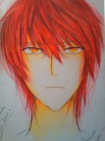 _FanArt_Traditional_Young_Mikoto_Suoh_K_Project_ by RuriSuoh