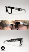 art and music glasses by Bobsmade