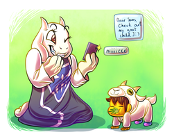 Goat Child by snowzahedghog