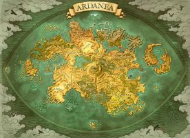 Worldmap Ardanea by Aeyolscaer