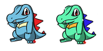 Pokemon #158 - Totodile by Fyreglyphs