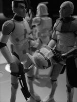 clone troopers rex and cody by shithlord