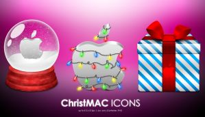 ChristMAC icons by MDGraphs