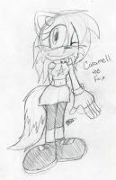Caramel the Fox :D by BlueSliver-Star