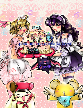 CLAMP: Time for Cake by PauAndLoma