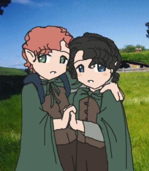 Frodo and Sam by Pirate-Perv