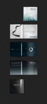 Brochure Mockup for J and T Bank by fuxxo