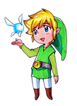 Link + Navi [PH] by Aenea-Jones