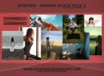 Woman Stock Pack 2 by ByOpser