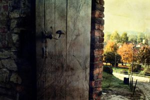 fairytale door by CallMeAnnette