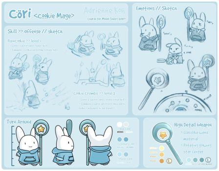 Character Sheet - Cori by RainCookie