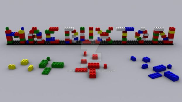 Lego Name by MacBuxton