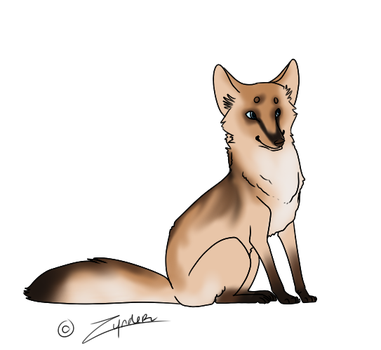 BlondeFox by OpticalColors