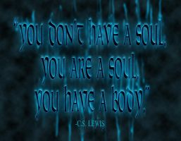 You don't have a Soul by MattShadoinDesign