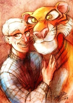 Milt and his Tiger by DrMistyTang