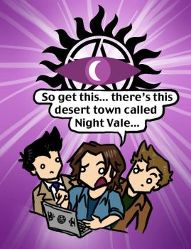 Welcome to Super Night Vale by blackbirdrose