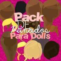 Pack de peinados para dolls by Girlspng