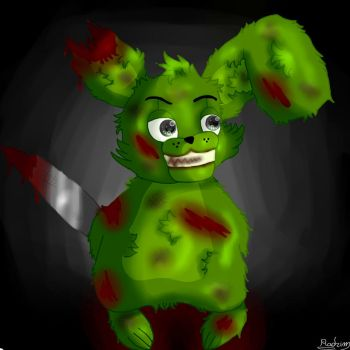 Five nights of cuteness - Springtrap - by Radrim