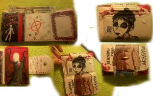 Marble Hornets Wallet by Doomonid