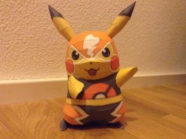 Toughness Pikachu Papercraft by giden445