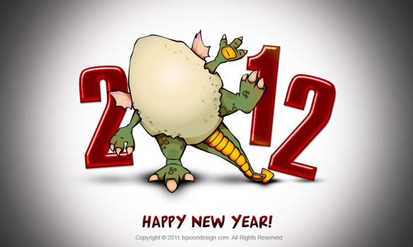 New Year 2012 by lozhka