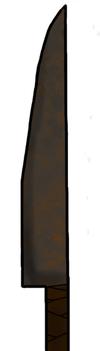 Rusty Iron Sword by TheReptilianGeneral