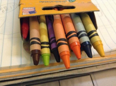 A Pic A Day:#4- KWAY-ONS (crayon) by kpopfan1412