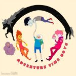 Adventure Time Boys by Immature-Child02