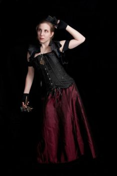 Steampunk Victorian III by Little-Princess-Kate