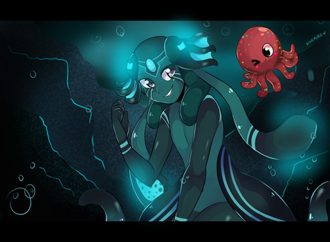 Commission: Under the sea by ricefawn